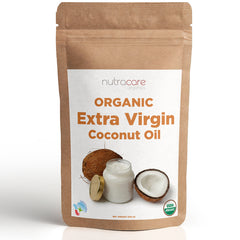 NutraCare Organics Extra Virgin Coconut oil, 500 ml