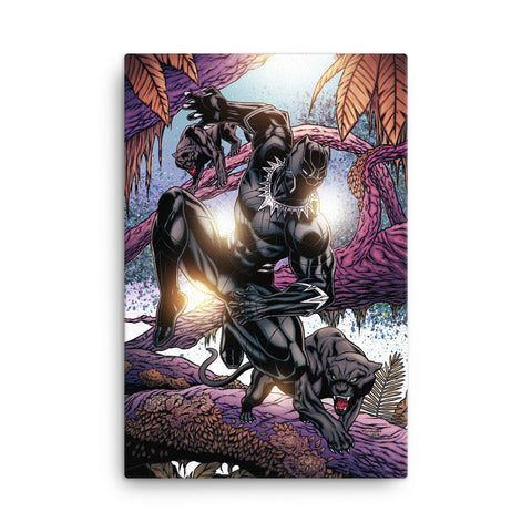 Black Panther Canvas