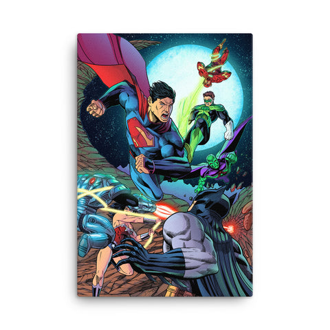 Justice League Canvas