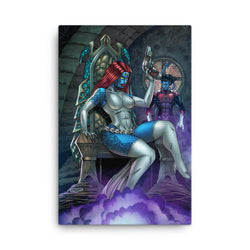 Mystique/NightCrawler Canvas