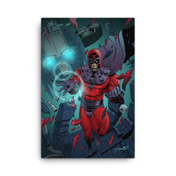 Magneto/Prime Canvas