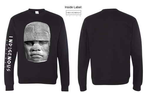 Olmec Long Sleeve T-Shirt