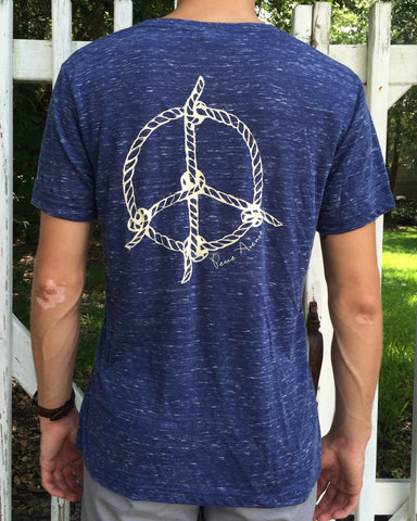 Nautical Peace - V-Neck