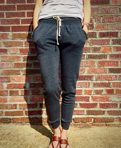 Eco-Fleece Jogger Pants - Heather Grey