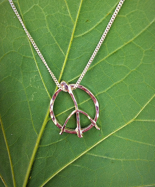 Small Peace Pendant