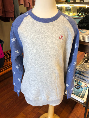 Youth Eco- Fleece Star Sweatshirt