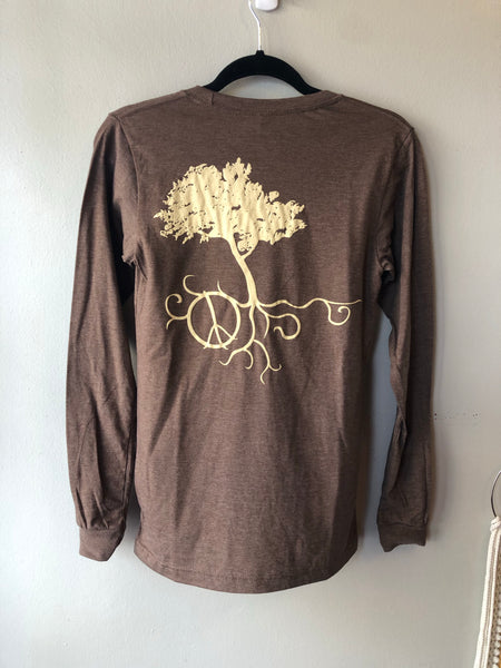 Tree with Roots - Long Sleeve