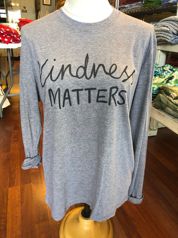 Kindness Matters - Unisex Long Sleeve