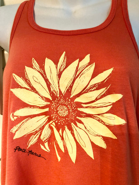 Sunflower - Racerback Tank