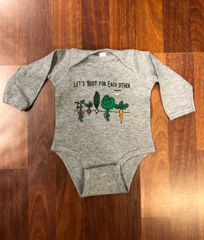 Infant Let's Root for Each Other - Long Sleeve