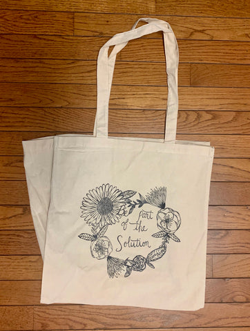 A Cotton Market Tote - Be Part of the Solution