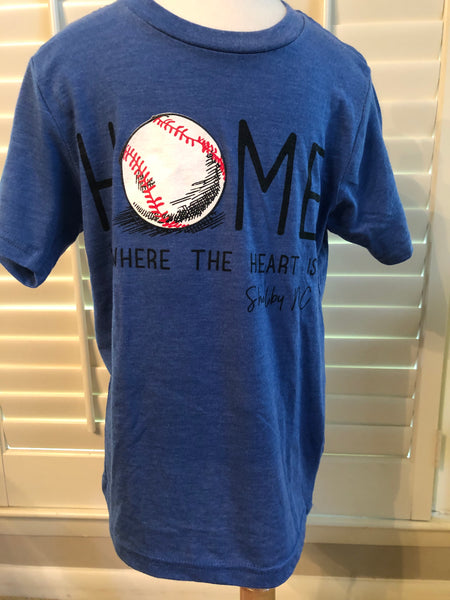 Youth Baseball - Short Sleeve