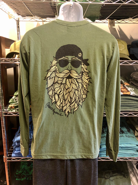 Bearded Man - Long Sleeves