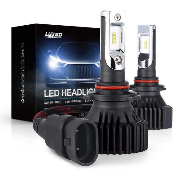 9005(HB3) LED Headlight Bulbs Conversion Kit Y8 Series ZES Chips Extremely Bright 6500K Xenon White - 8000 Lumens/Set