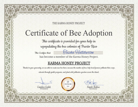 Tascha Halliburton Karma Honey Project