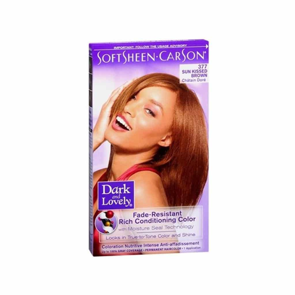 "COLORATION PERMANENTE ""NUTRITIVE INTENSE"" SUNKISSED BROWN"