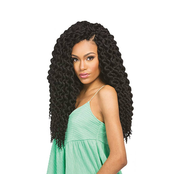 X-PRESSION CUEVANA TWIST OUT (CROCHET BRAIDS)