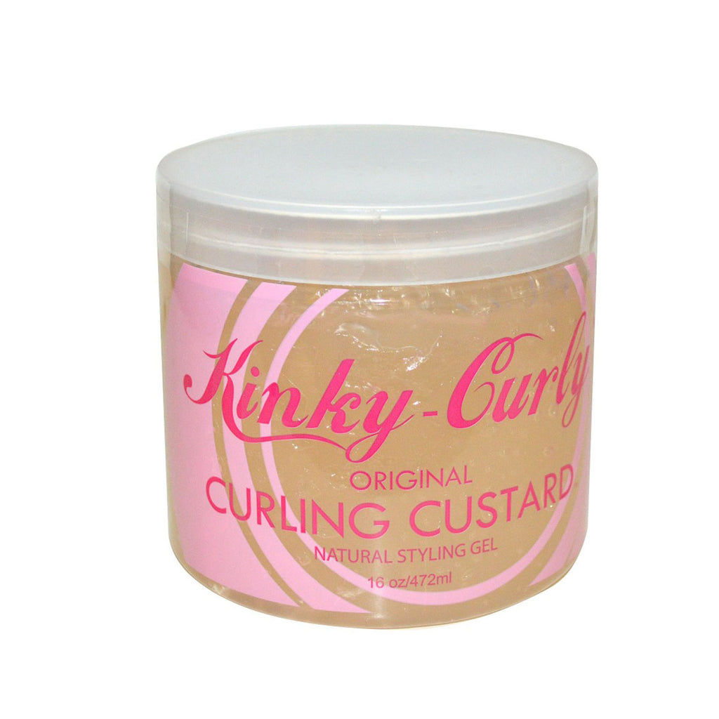 KINKY CURLY – CURLING CUSTARD (GEL COIFFANT) – 472ML