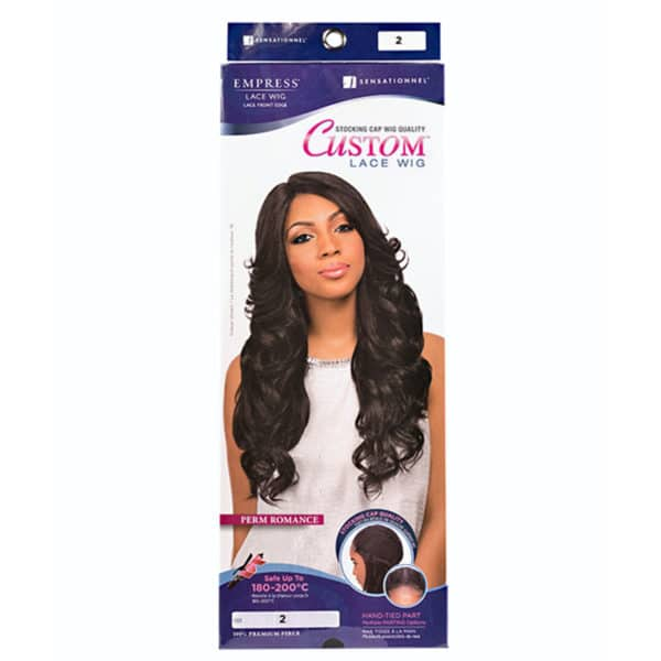 SENSATIONNEL LACE PERRUQUE PERM ROMANCE (CUSTOM LACE)