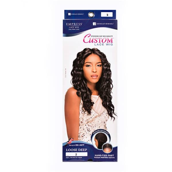 SENSATIONNEL LACE PERRUQUE LOOSE DEEP CURL (CUSTOM LACE)