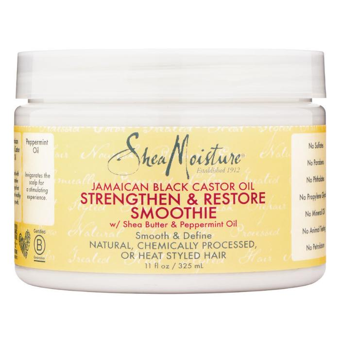SHEA MOISTURE – JAMAICAN BLACK CASTOR OIL – SMOOTHIE 325G