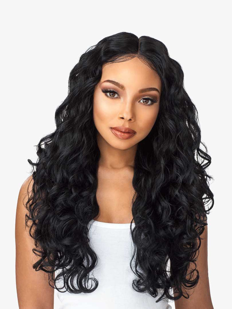 SENSATIONNEL LACE PERRUQUE 6 PART BODY WAVE