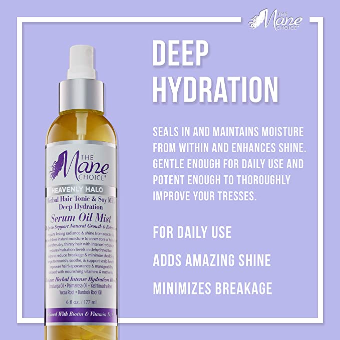 THE MANE CHOICE HEAVENLY HALO Lait coiffant 237ml