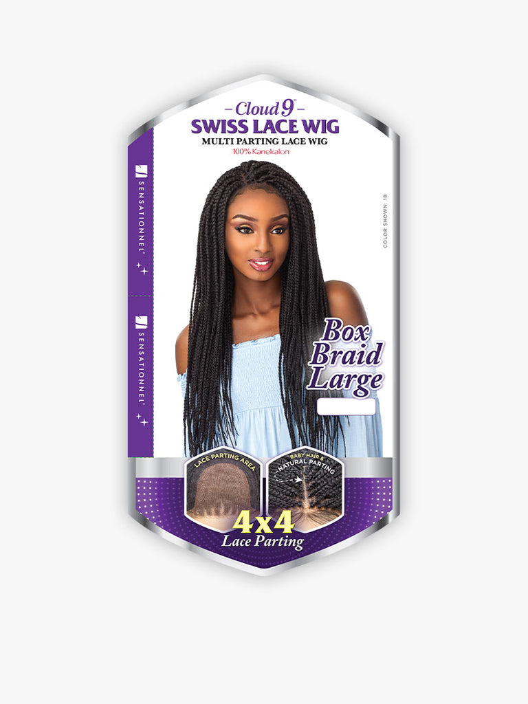 LACE WIG 4X4 BOX BRAID LARGE