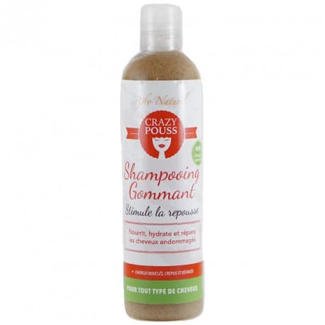 CRAZY POUSS SHAMPOOING GOMMANT 300ML AFRO NATUREL