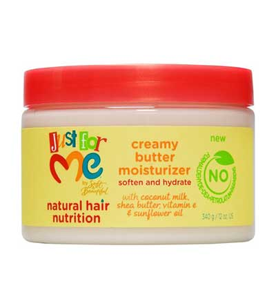 JUST FOR ME NATURAL HAIR CREAMY BUTTER MOISTURIZER (CREME NOURRISSANTE)