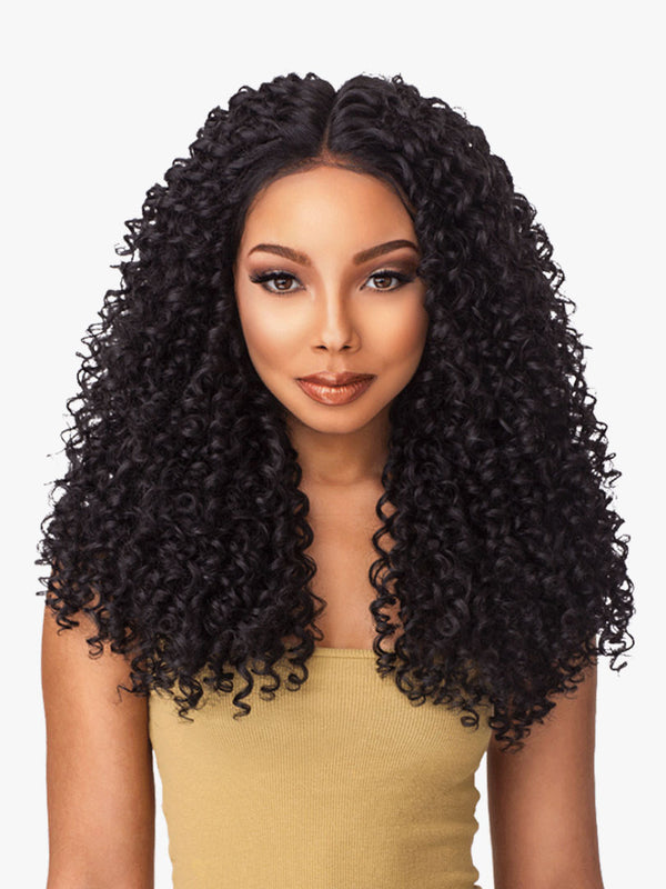 SENSATIONNEL LACE PERRUQUE 6 PART KINKY CURL