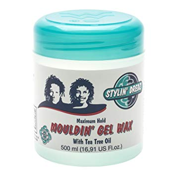 STYLIN' DREDZ GEL POUR LES LOCKS (MOULDIN GEL WAX) 500ML