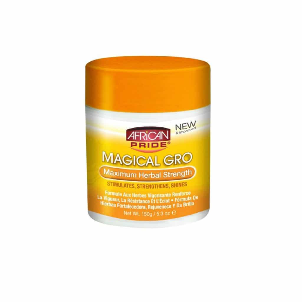 AFRICAN PRIDE SHEA MIRACLE SOIN REVITALISANT AUX HERBES 150G (MAGICAL GRO)