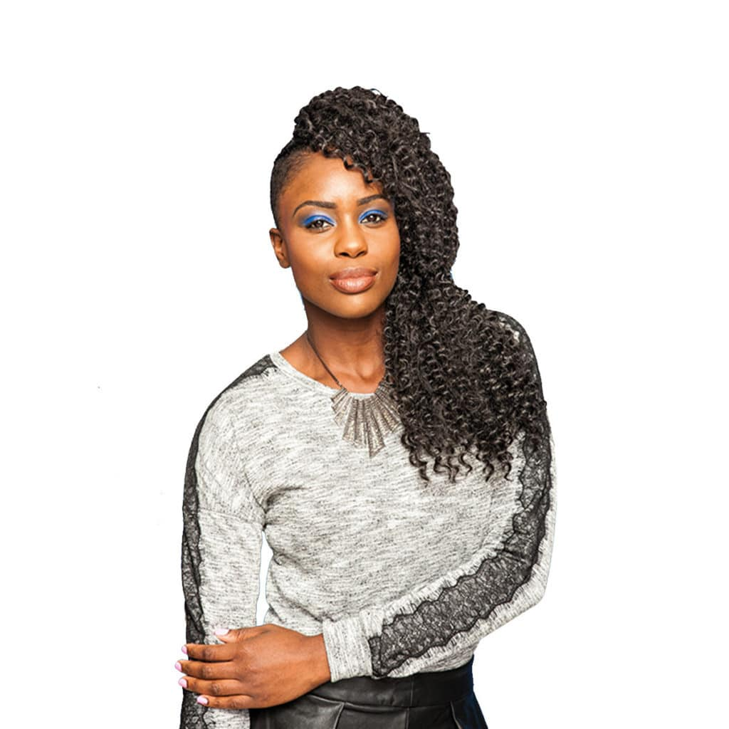 URBAN SPIRAL (CROCHET BRAIDS)
