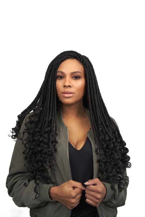 GODDESS FAUX LOCS (FAUX LOCKS CURL 14