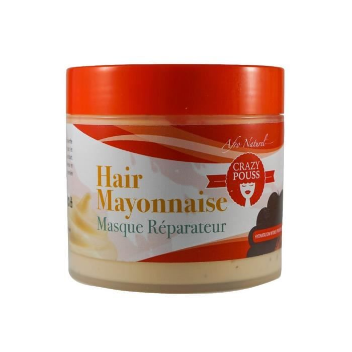 CRAZY POUSS HAIR MAYONNAISE MASQUE RÉPARATEUR 500ML AFRO NATUREL