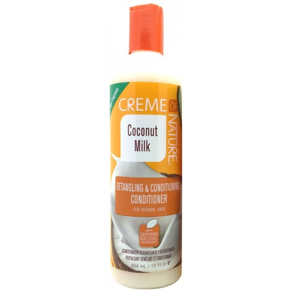 CREME OF NATURE COCONUT MILK APRES SHAMPOING DEMELANT