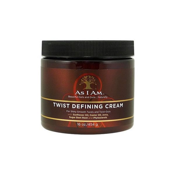 AS I AM – TWIST DEFINING CREAM (CRÈME COIFFANTE POUR TWISTS)- 454G