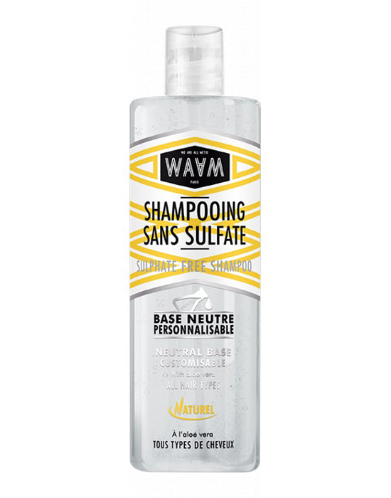 WAAM BASE SHAMPOING SANS SULFATE 400ML