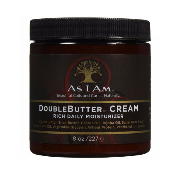 AS I AM – DOUBLEBUTTER CREAM (CRÈME QUOTIDIENNE RICHE) 227G