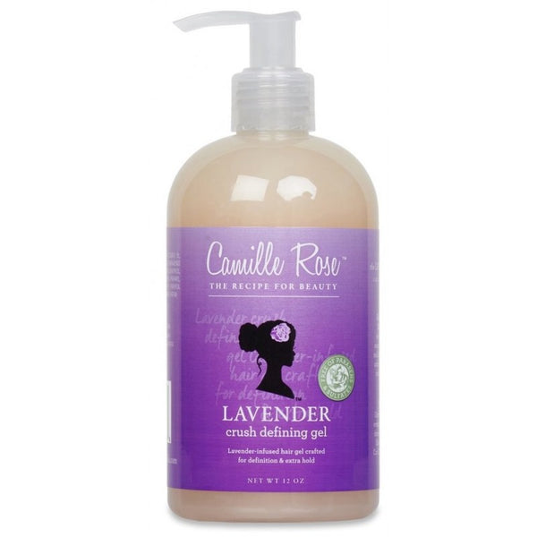 Camille Rose Lavender -Gel Définissant de Boucles Crush Defining Gel Extra Hold