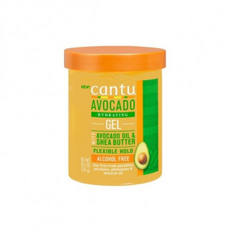 CANTU AVOCADO GEL ACTIVATEUR DE BOUCLES (524G)