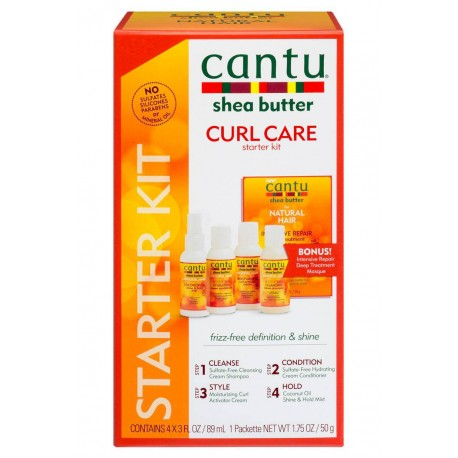 Cantu Natural Hair Kit Découverte