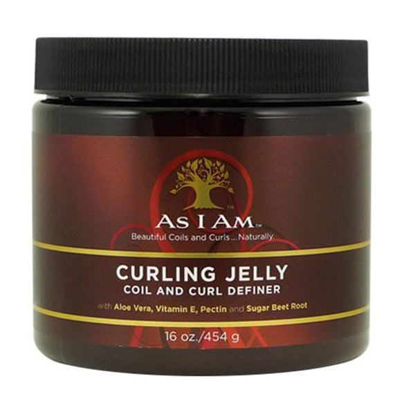AS I AM – CURLING JELLY (GELÉE COIFFANTE CHEVEUX SOUPLES) (454g)