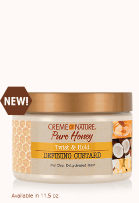 CREME OF NATURE PURE HONEY TWIST & HOLD DEFINING CUSTARD