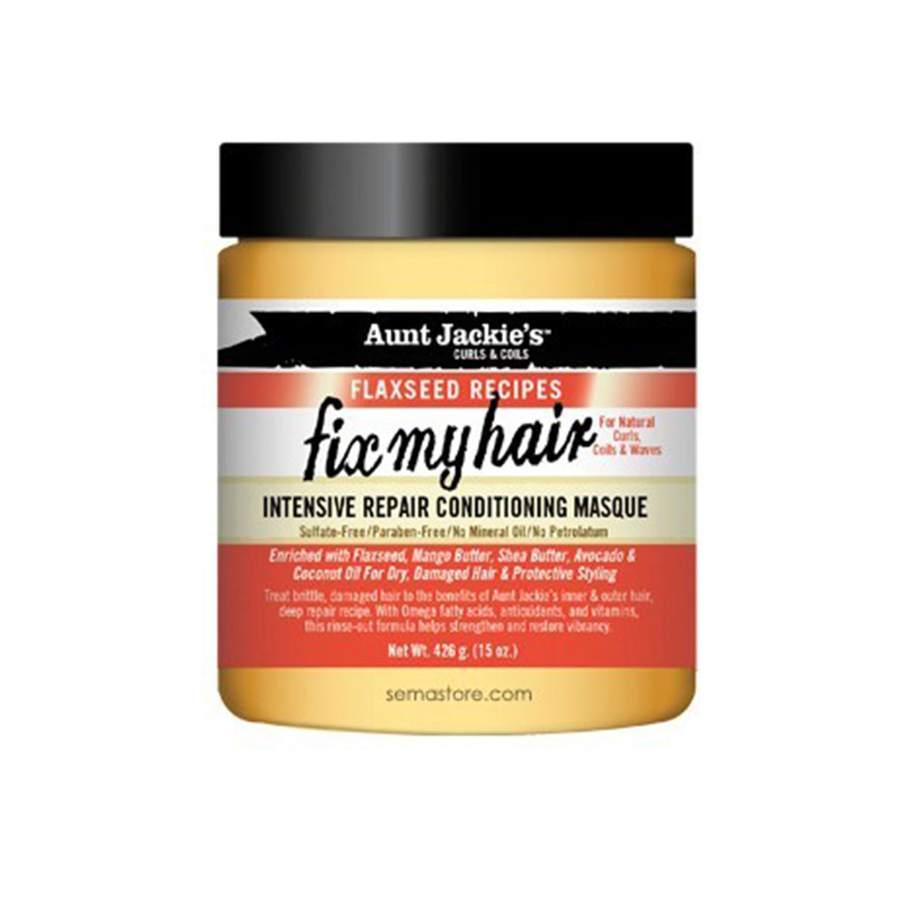 AUNT JACKIE'S – FLAXSEED – FIX MY HAIR (MASQUE INTENSIF)