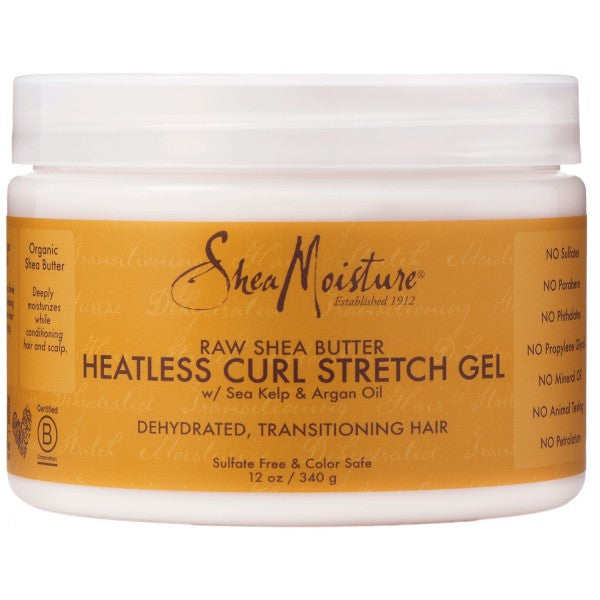 SHEA MOISTURE – RAW SHEA BUTTER – CURL STRETCH GEL 340G