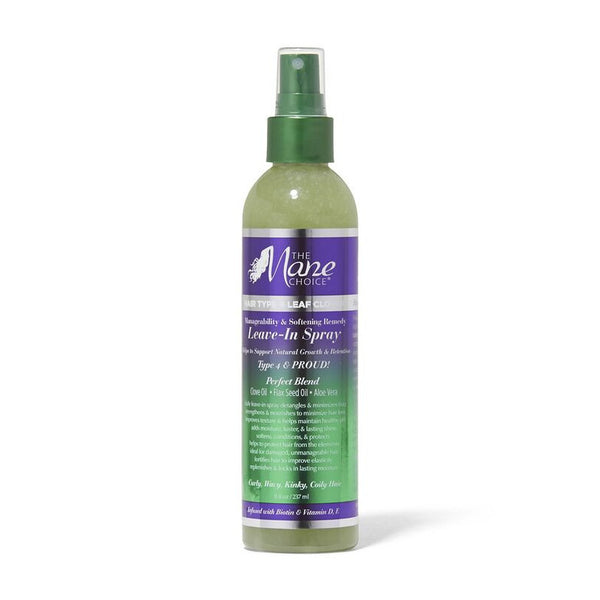 THE MANE CHOICE 4 LEAF CLOVER LEAVE IN SPRAY 237ML
