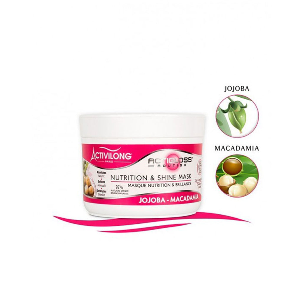 ACTIGLOSS MASQUE NUTRITION ET BRILLANCE  NOURISH
