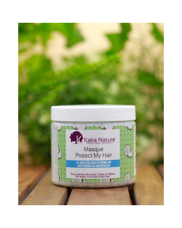 "KALIA NATURE MASQUE CAPILLAIRE PROTECT MY HAIR ""COCO/SPIRULINE"" 200ML"